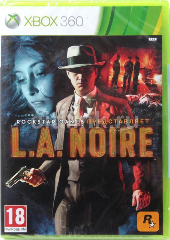 Игра MICROSOFT L.A.Noire для  Xbox360 Rus (документация)
