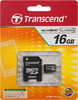 Карта памяти microSDHC TRANSCEND 16 ГБ