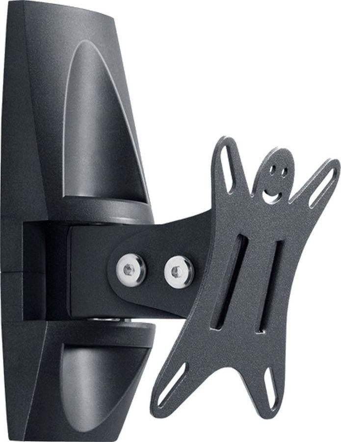 "Кронштейн для телевизора Holder LCDS-5003 металлик 10""-26"" макс.25кг настенный поворот и наклон [lcds-5003 metallic]"