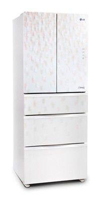 Холодильник LG GC-B40BSGMD,  четырехкамерный,  белый