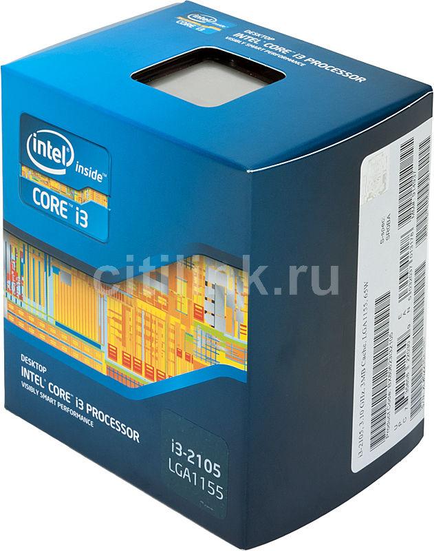 Процессор INTEL Core i3 2105, LGA 1155 BOX [bx80623i32105  s r0ba]