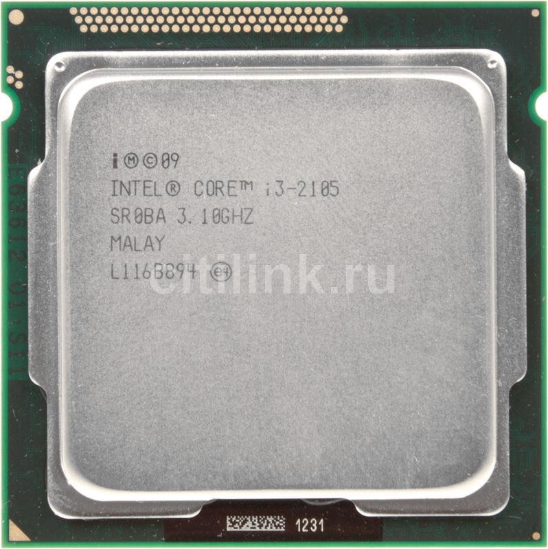 Процессор INTEL Core i3 2105, LGA 1155 OEM [cm8062301090600s r0ba]