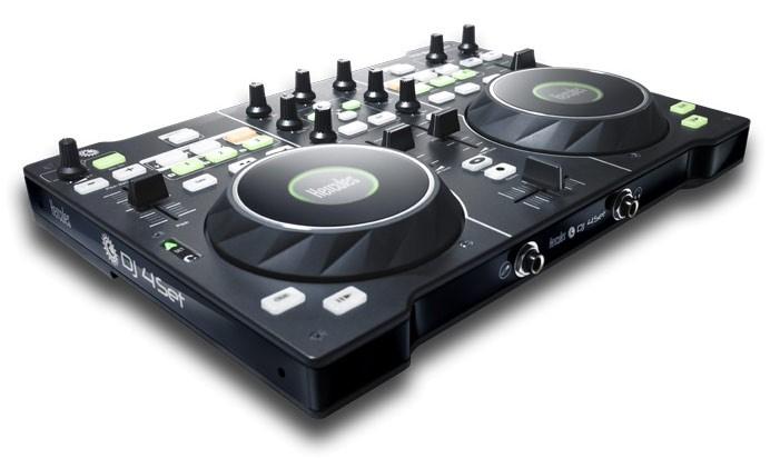 Музыкальный пульт HERCULES DJ Console dj4set