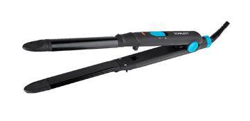 Выпрямитель для волос SCARLETT SC-066,  черный и голубой