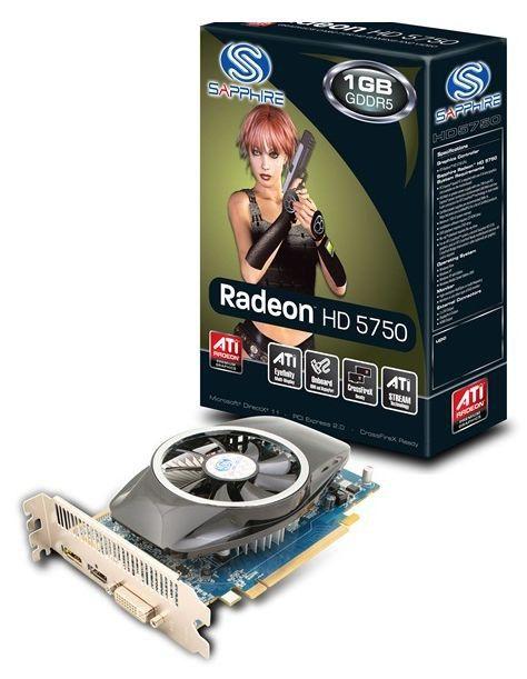 Видеокарта SAPPHIRE Radeon HD 5750,  1Гб, GDDR5, oem [11164-11-10g]