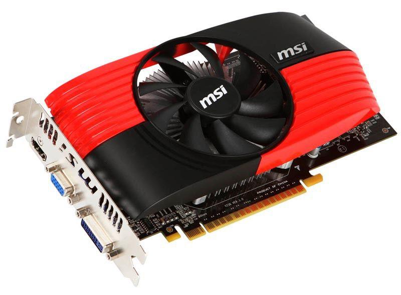 Видеокарта MSI PCI-E NV N450GTS-MD512 D5 GTS450 512Mb 128b DDR5 CRT+DVI+HDMI RTL