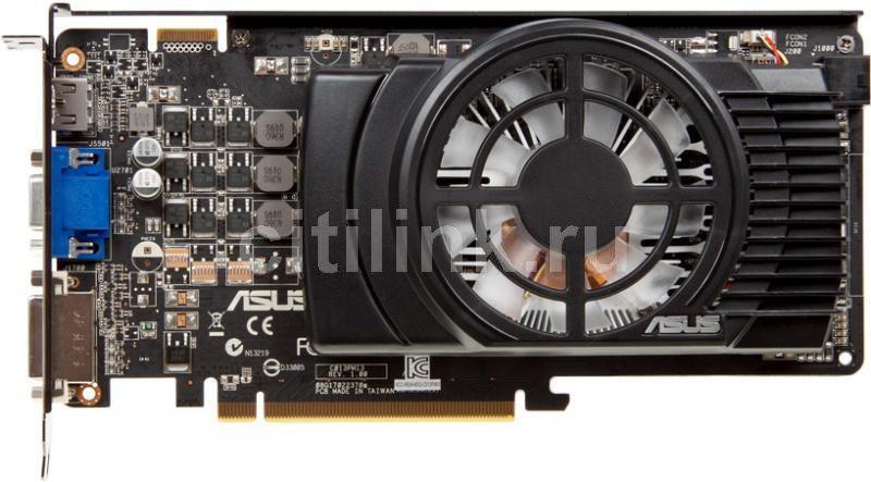 Видеокарта ASUS Radeon HD 6770,  1Гб, GDDR5, Ret [eah6770/2di/1gd5]