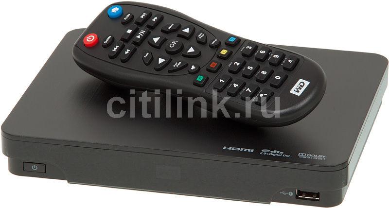 Медиаплеер WD TV Live HUB,  1000Гб черный