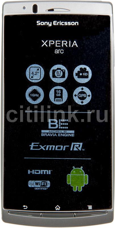 Смартфон SONYERICSSON Xperia Arc LT15i  серебристый