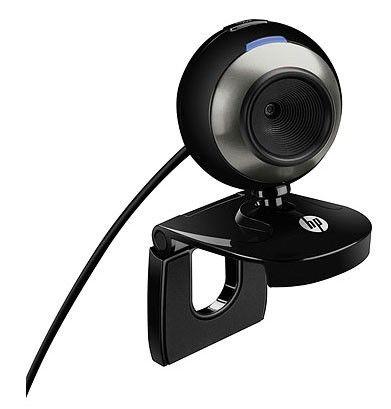 Web-камера HP HD-2200, BR384AA,  черный