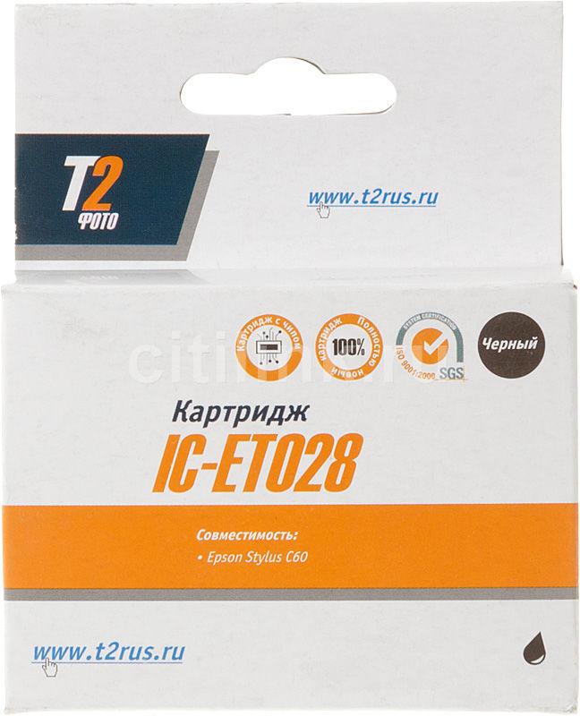Картридж T2 C13T028401 IC-ET028,  черный