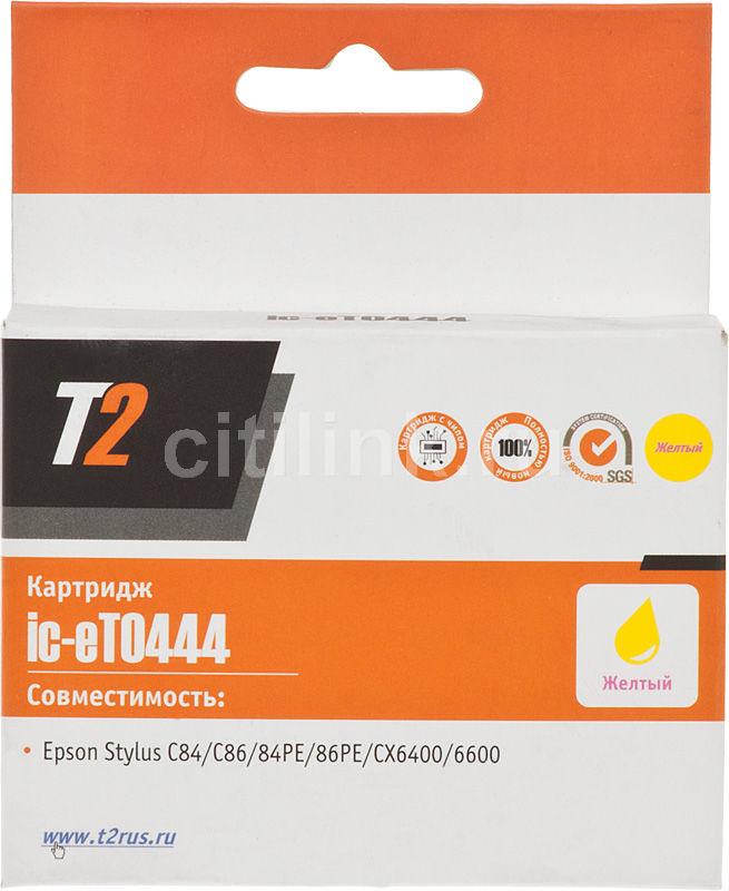 Картридж T2 C13T044440 IC-ET0444,  желтый
