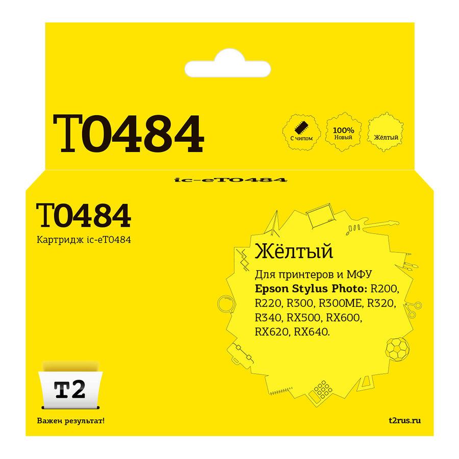 Картридж T2 C13T048440 желтый [ic-et0484]