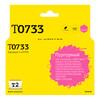Картридж T2 C13T07334A IC-ET0733,  пурпурный вид 1