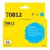 Картридж T2 C13T08124A IC-ET0812,  голубой вид 1