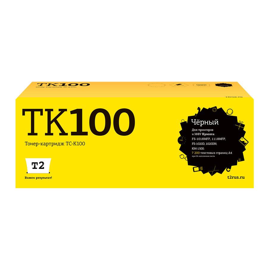 Картридж T2 TK-100 черный [tc-k100]