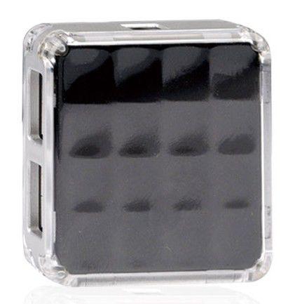 Хаб (разветвитель) A4 HUB-56-4, черный [hub-56-4 (black)]