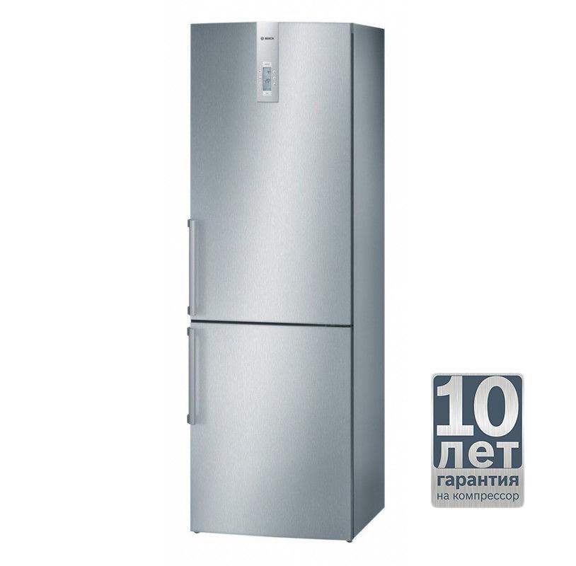 Холодильник BOSCH KGN 36A45,  двухкамерный,  серебристый [kgn36a45]