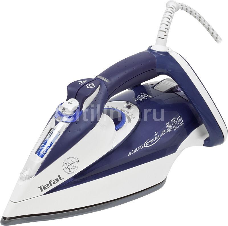 Утюг TEFAL FV9547,  2600Вт,  фиолетовый/ белый
