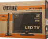 "LED телевизор MYSTERY MTV-1914LW  ""R"", 19"", HD READY (720p),  черный вид 11"