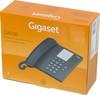 Проводной телефон GIGASET DA100, антрацит вид 6