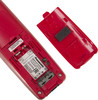 Радиотелефон PANASONIC KX-TG1611RUR,  красный и черный вид 5