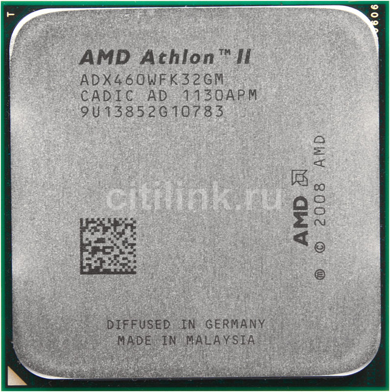 Процессор AMD Athlon II X3 460, SocketAM3 OEM [adx460wfk32gm]