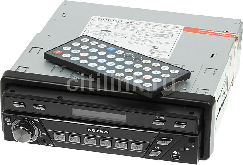 Автомагнитола SUPRA SWM-755,  USB,  SD/MMC