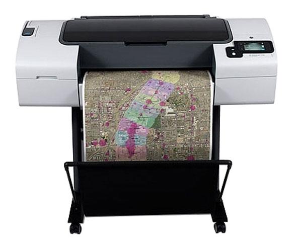 Плоттер HP DesignJet T790 24in ePrinter (CR647A) подставка не входит в комплект