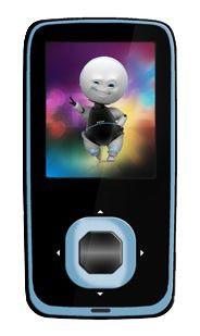 MP3 плеер EXPLAY C30 flash 4Гб черный/голубой [c30 4gb black/blue]