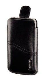 Чехол Hama H-107105 черный кожа для Apple 4