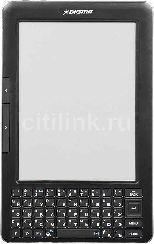 """Электронная книга DIGMA S602,  6"""", черный"""
