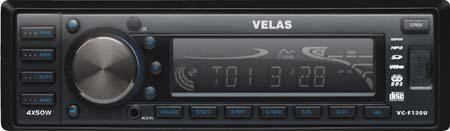 Автомагнитола VELAS VC-F130U,  USB,  SD