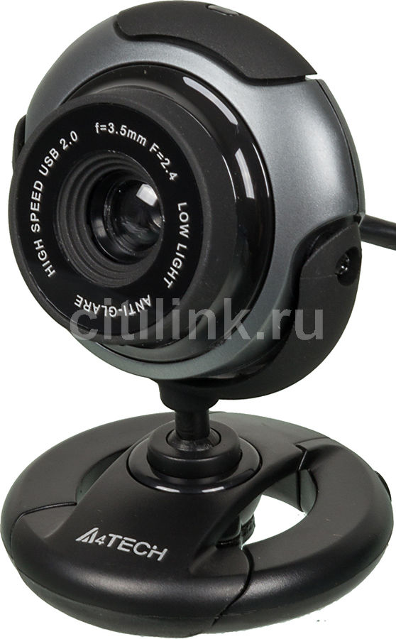 Web-камера A4 PK-710G,  черный и серый [pk-710g (black)]