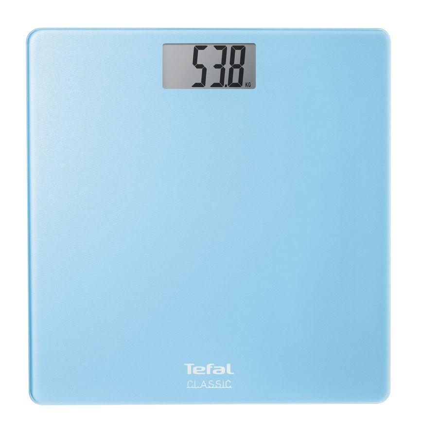 Весы TEFAL PP1101V0, до 160кг, цвет: голубой [2100062619]