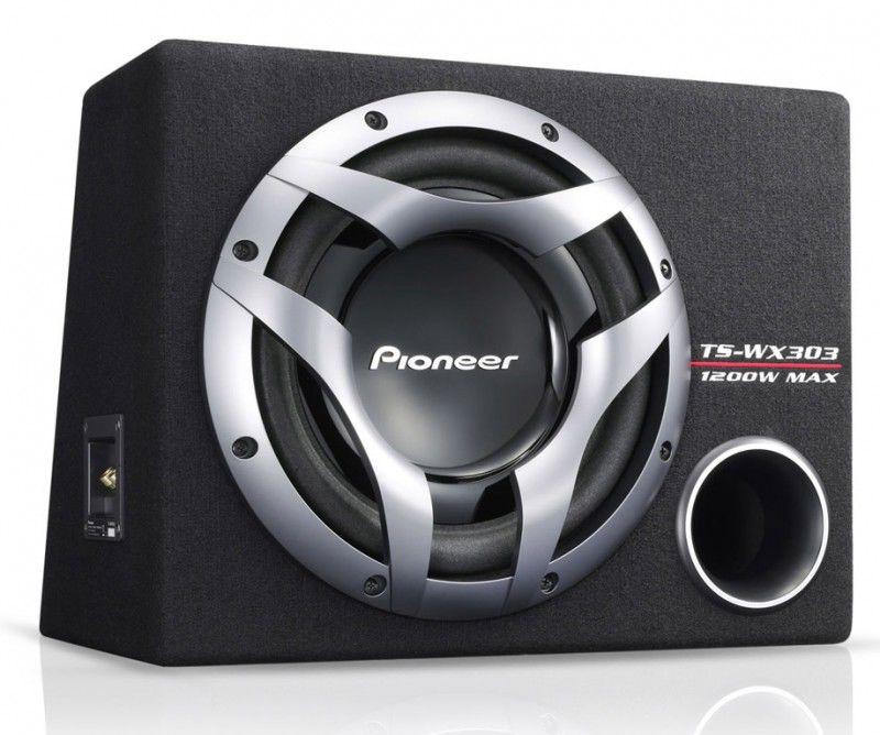 Сабвуфер автомобильный PIONEER TS-WX303,  пассивный,  1200Вт [ts-wx303r]