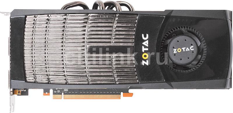 Видеокарта ZOTAC GeForce GTX 570,  1.3Гб, GDDR5, Ret [zt-50205-10p]