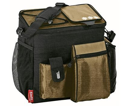 Сумка-термос EZETIL Keep Cool Professional,  18л,  черный и коричневый [kc professional 18]