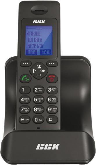 Радиотелефон BBK BKD-821RU,  черный [bkd-821 ru b]