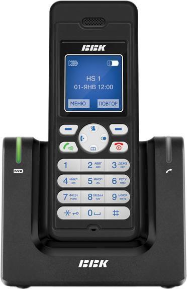Радиотелефон BBK BKD-830RU,  черный [bkd-830 ru b]