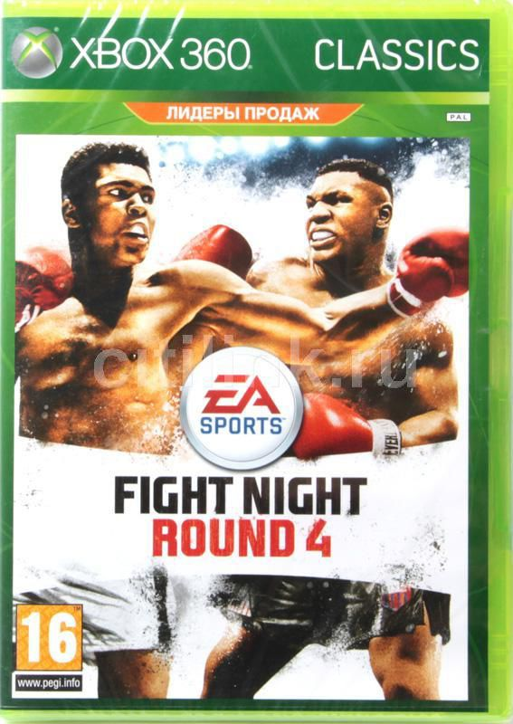 Игра MICROSOFT Fight Night ROUND 4 для  Xbox360 Eng