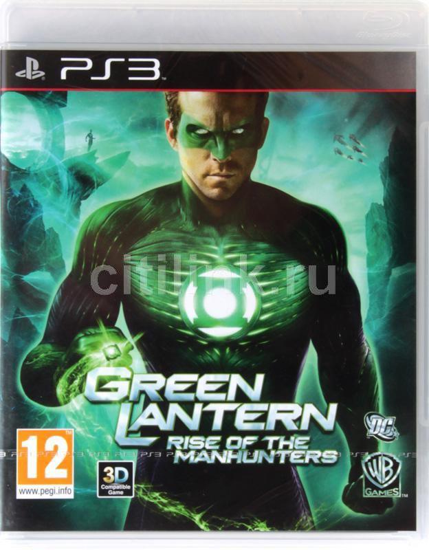 Игра SONY Green Lantern: Rise of the Manhunters (3D) для  PlayStation3 Rus