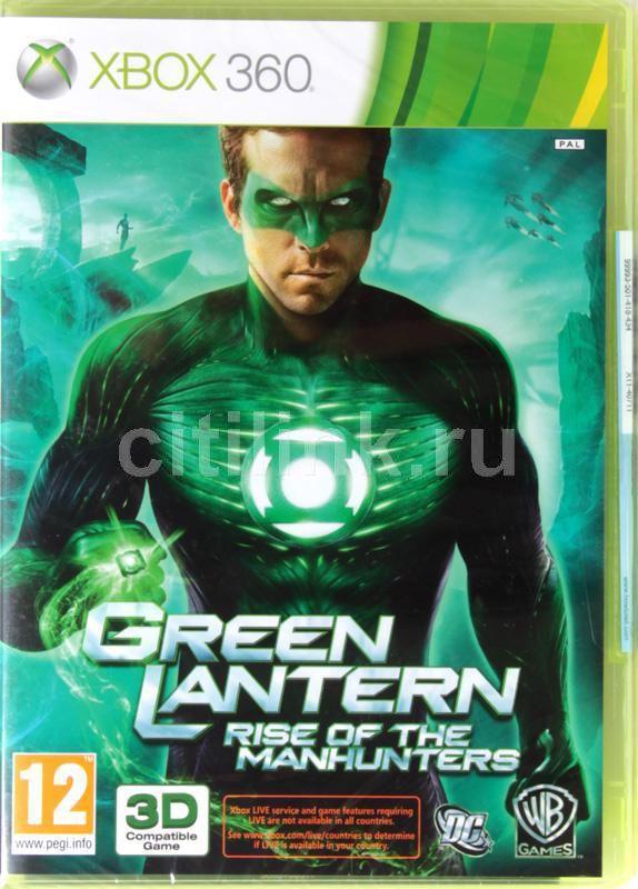 Игра MICROSOFT Green Lantern: Rise of the Manhunters (3D) для  Xbox360 Eng