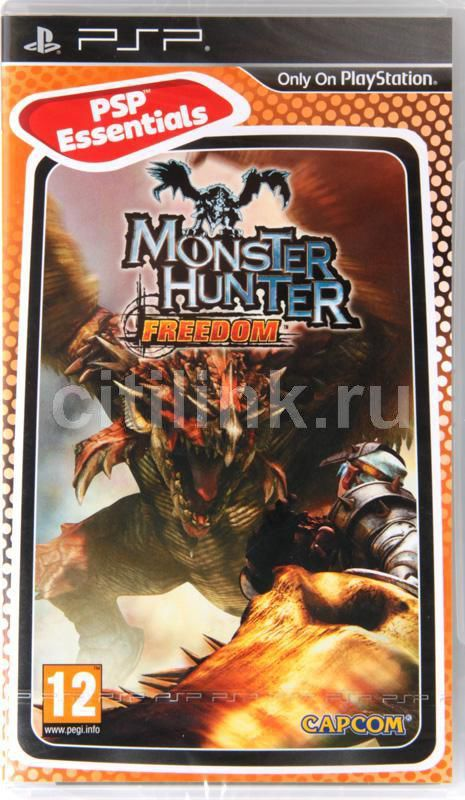 Игра SONY Monster Hunter Freedom (Essentials) для  PSP Eng
