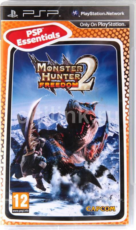 Игра SONY Monster Hunter Freedom 2 (Essentials) для  PSP Eng