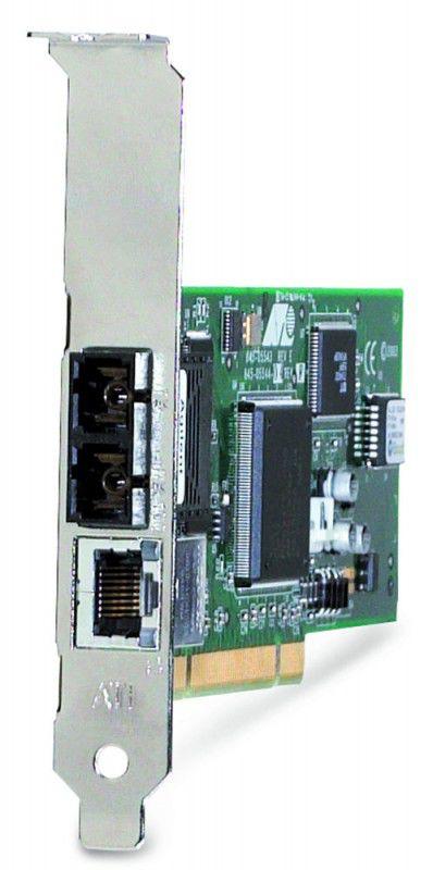 Сетевой адаптер Fast Ethernet Fiber ALLIED TELESIS [at-2701ftx/sc]