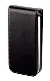 Чехол (флип-кейс) HAMA H-104598, для Apple iPhone 3/3GS, черный