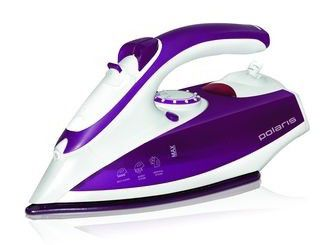 Утюг POLARIS PIR2245K,  2200Вт,  белый/ фиолетовый