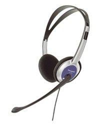 Наушники с микрофоном PANASONIC RP-HM211,  накладные, серебристый  / черный [rp-hm211gu-a]