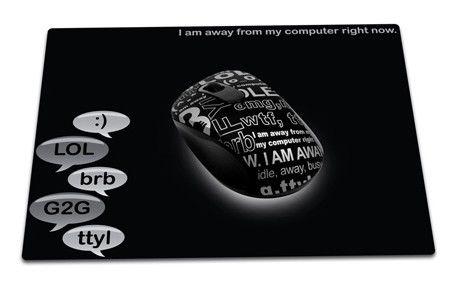 Мышь G-CUBE Chat Room G7MCR-6020B оптическая беспроводная USB, черный